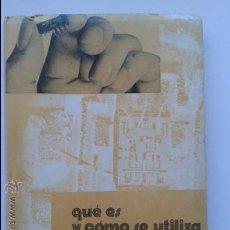Radios antiguas: QUE ES Y COMO SE UTILIZA EL CIRCUITO INTEGRADO. FERNANDO ESTRADA VIDAL. Lote 38027841