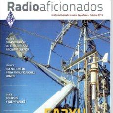 Radios antiguas: REVISA , RADIO AFICIONADOS OCTUBRE DE 2013. Lote 42386546