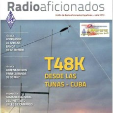 Radios antiguas: REVISA , RADIO AFICIONADOS JULIO DE 2013. Lote 42386577