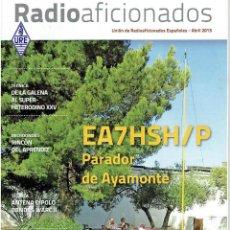 Radios antiguas: REVISA , RADIO AFICIONADOS ABRIL DE 2013. Lote 42386733
