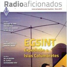 Radios antiguas: REVISA , RADIO AFICIONADOS MARZO DE 2012 . Lote 42386801