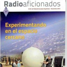 Radios antiguas: REVISA , RADIO AFICIONADOS NOVIEMBRE DE 2012. Lote 42386824