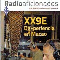 Radios antiguas: REVISA , RADIO AFICIONADOS OCTUBRE DE 2012. Lote 42386999