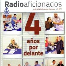 Radios antiguas: REVISTA RADIO AFICIONADOS JULIO DE 2012. Lote 42388487
