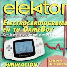 Radios antiguas: REVISTA, ELEKTOR Nº 319 - NO CONTIENE DVD . Lote 42399187