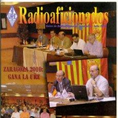 Radios antiguas: REVISTA UNION DE RADIOAFICIONADOS ESPAÑOLES (URE) - JULIO 2010. Lote 45877581