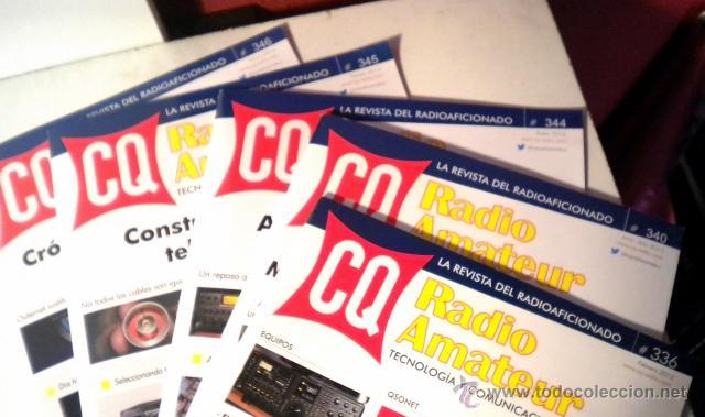 Radios antiguas: Lote de 8 revistas Radio aficionado y Radio Amateur - Foto 2 - 42803017