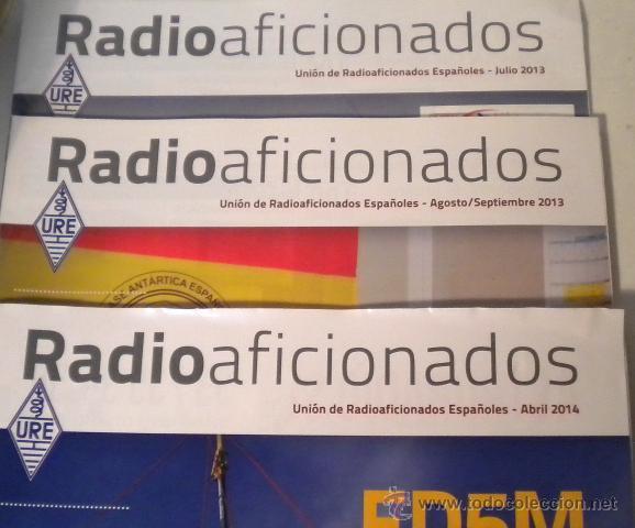 Radios antiguas: Lote de 8 revistas Radio aficionado y Radio Amateur - Foto 3 - 42803017