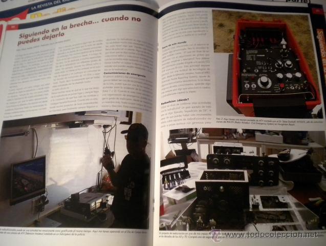 Radios antiguas: Lote de 8 revistas Radio aficionado y Radio Amateur - Foto 6 - 42803017