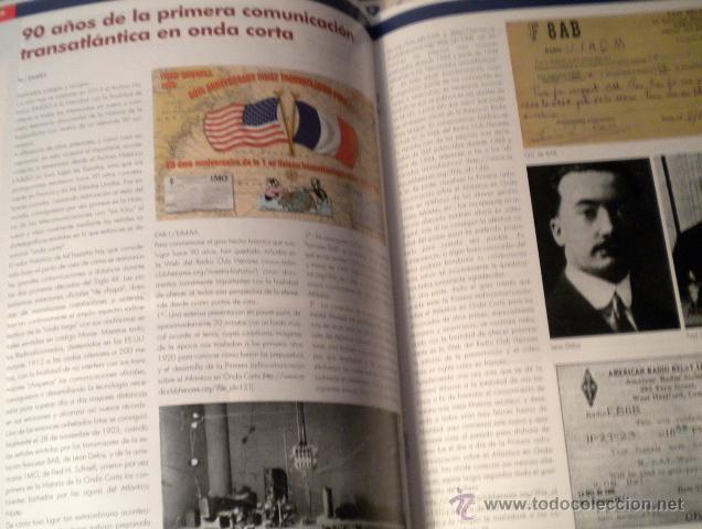 Radios antiguas: Lote de 8 revistas Radio aficionado y Radio Amateur - Foto 8 - 42803017