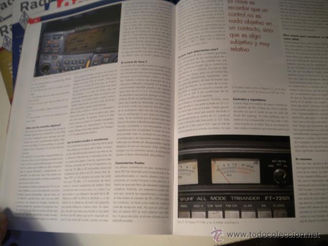 Radios antiguas: Lote de 8 revistas Radio aficionado y Radio Amateur - Foto 10 - 42803017