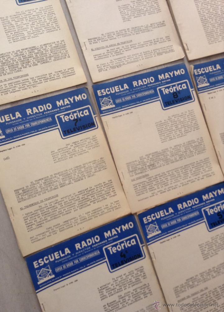 Radios antiguas: curso de 1958 de la escuela radio maymo de television + noticiarios - Foto 2 - 43265753