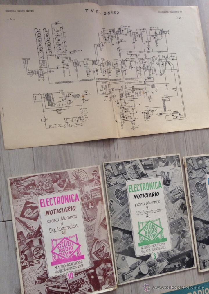 Radios antiguas: curso de 1958 de la escuela radio maymo de television + noticiarios - Foto 3 - 43265753