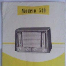 Radios antiguas: CATALOGO RADIOS, DIFERENTES MODELOS. Lote 43402770