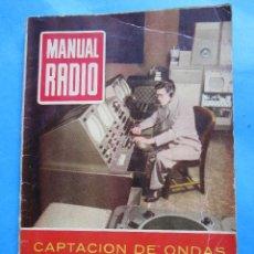Radios antiguas: MANUAL RADIO N.20 - 1954 - CAPTACION DE ONDAS. Lote 43989574