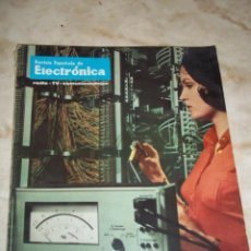 Radios antiguas: ANTIGUA REVISTA ESPAÑOLA DE ELECTRONICA RADIO--TV-COMUNICACIONESSEPTIEMBRE 1969 NUM 178. Lote 44311443