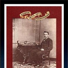 Radios antiguas: CUADRO PUBLICIDAD GRAMOFONO - THE EDISON PHONOGRAPH - ENMARCADO EN MADERA,43X33CM. Lote 44716834