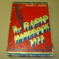 Radios antiguas: THE RADIO HANDBOOK 1938. Lote 44869011