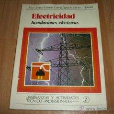 Radios antiguas: ELECTRICIDAD INSTALACIONES ELECTRICAS. Lote 45126197