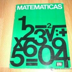 Radios antiguas: MATEMATICAS AFHA. Lote 45126303