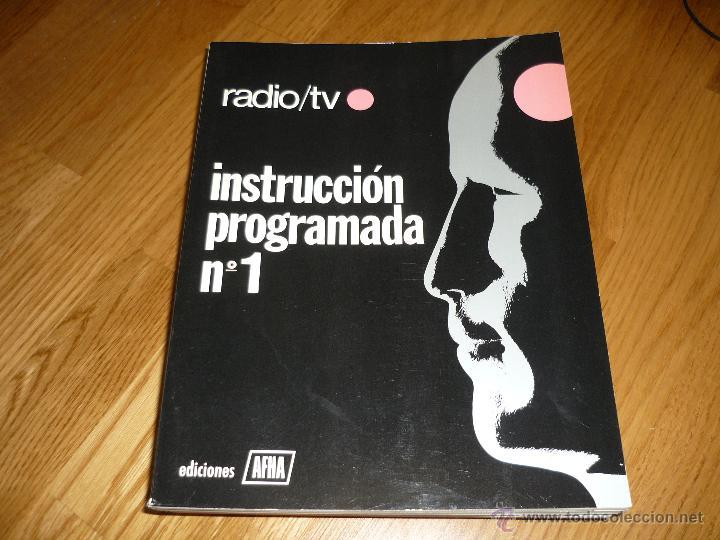 CUADERNOS DE INSTRUCCION PROGRAMADA DE APHA 12 NUMEROS MUY BUEN ESTADO MAS REGALO CIRCUITOS TV (Radios, Gramófonos, Grabadoras y Otros - Catálogos, Publicidad y Libros de Radio)