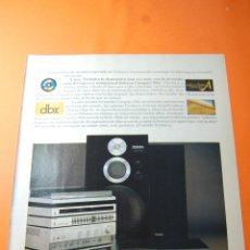Radios antiguas: PUBLICIDAD 1983 - COLECCION ELECTRONICA - TECHNICS. Lote 46561113