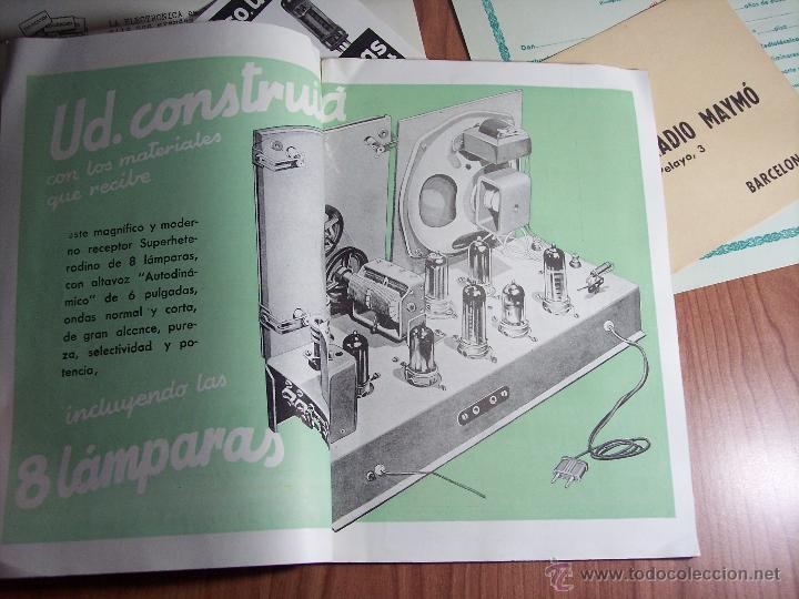 Radios antiguas: AL EXITO POR LA PRACTICA (CATÁLOGO PUBLICIDAD ESCUELA DE RADIO MAYMÓ) AÑOS 50 - Foto 5 - 47163599