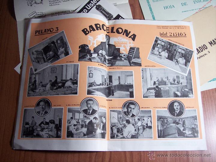 Radios antiguas: AL EXITO POR LA PRACTICA (CATÁLOGO PUBLICIDAD ESCUELA DE RADIO MAYMÓ) AÑOS 50 - Foto 6 - 47163599
