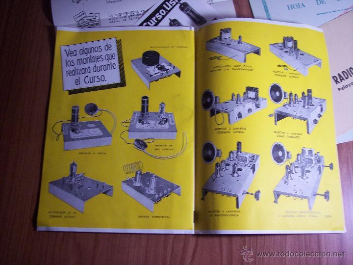 Radios antiguas: AL EXITO POR LA PRACTICA (CATÁLOGO PUBLICIDAD ESCUELA DE RADIO MAYMÓ) AÑOS 50 - Foto 8 - 47163599
