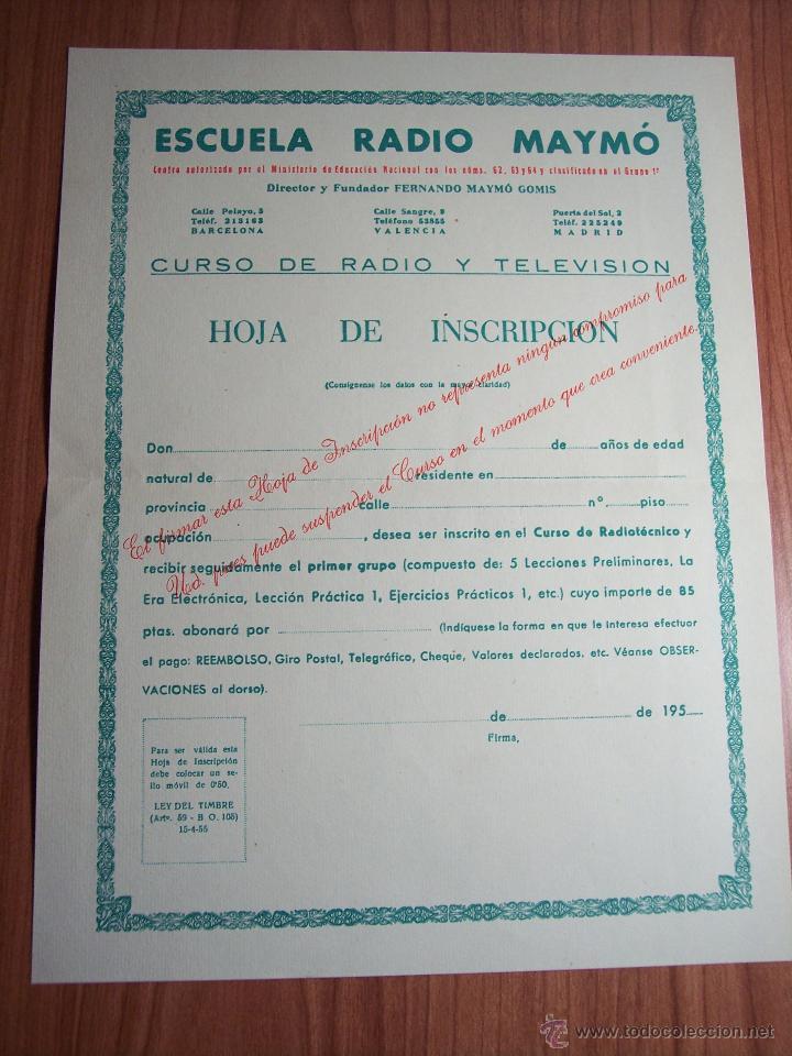 Radios antiguas: AL EXITO POR LA PRACTICA (CATÁLOGO PUBLICIDAD ESCUELA DE RADIO MAYMÓ) AÑOS 50 - Foto 10 - 47163599