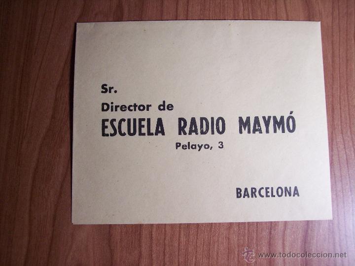 Radios antiguas: AL EXITO POR LA PRACTICA (CATÁLOGO PUBLICIDAD ESCUELA DE RADIO MAYMÓ) AÑOS 50 - Foto 11 - 47163599
