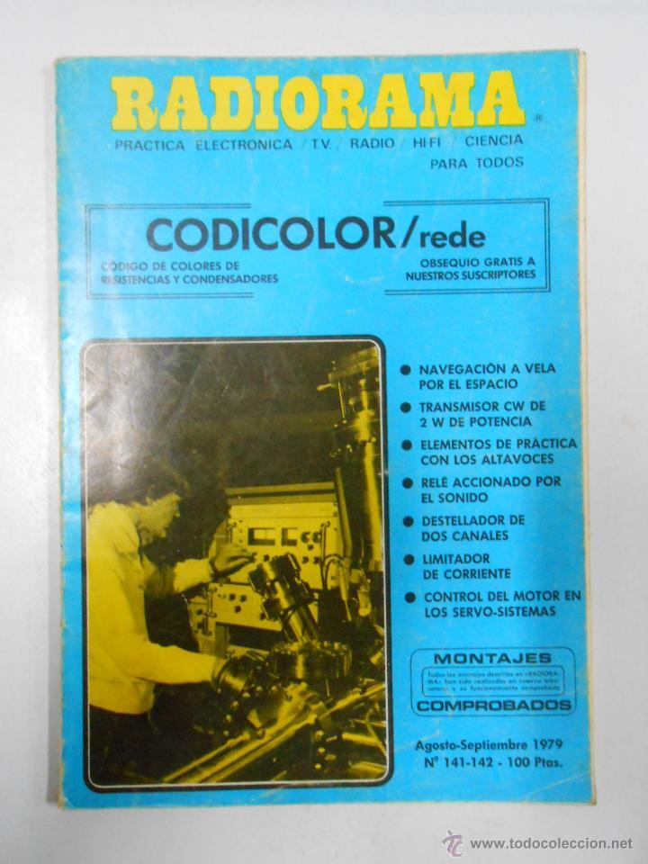 REVISTA RADIORAMA N° 141- 142 - TDK7 (Radios, Gramófonos, Grabadoras y Otros - Catálogos, Publicidad y Libros de Radio)