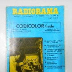 Radios antiguas: REVISTA RADIORAMA N° 141- 142 - TDK7. Lote 46301823