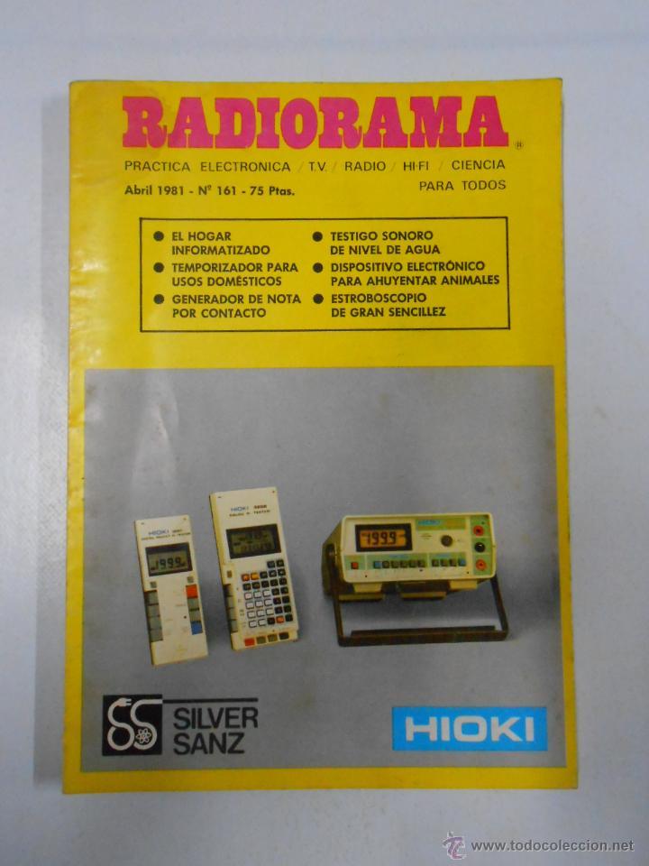 REVISTA RADIORAMA N° 161 - TDK7 (Radios, Gramófonos, Grabadoras y Otros - Catálogos, Publicidad y Libros de Radio)