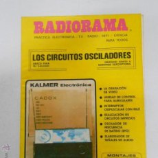 Radios antiguas: REVISTA RADIORAMA N° 157 - TDK7. Lote 46302005