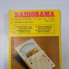 Radios antiguas: REVISTA RADIORAMA N° 160- TDK7. Lote 46302079