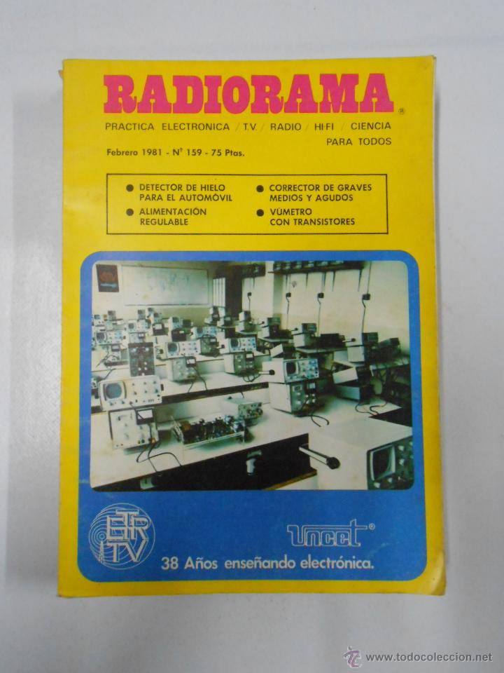 REVISTA RADIORAMA N° 159 - TDK7 (Radios, Gramófonos, Grabadoras y Otros - Catálogos, Publicidad y Libros de Radio)