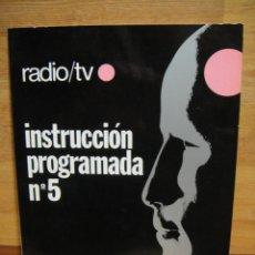 Radios antiguas: CUADERNO DE INSTRUCCION PROGRAMADA Nº 5 - RADIO TV AFHA. Lote 48208951