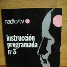 Radios antiguas: CUADERNO DE INSTRUCCION PROGRAMADA Nº 3 - RADIO TV AFHA. Lote 48208996