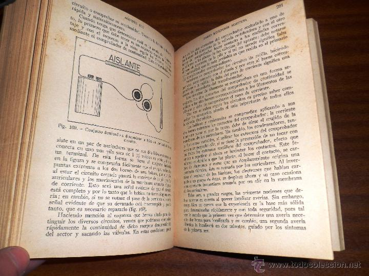 Radios antiguas: RADIO RECEPCIÓN MODERNA. POR AGUSTÍN RUI. (1934) LIBERÍA SINTES. BARCELONA. (ver índice) - Foto 3 - 48575315