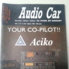 Radios antiguas: REVISTA AUDIO CAR AUTO-RADIOS RADIOS TELEFONOS ACIKO ,KENWOOD ,IRVING 1989. Lote 48925709