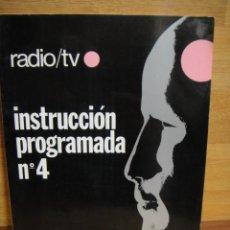 Radios antiguas: INSTRUCCION PROGRAMADA Nº 4 - CURSO AFHA. Lote 49013756