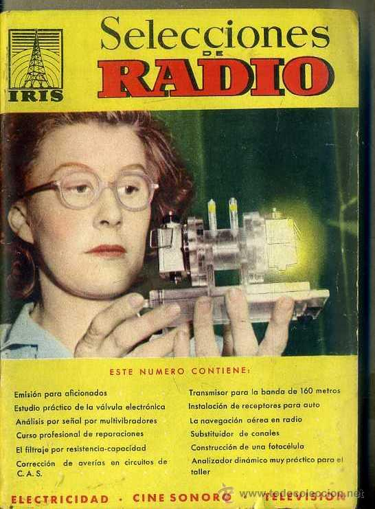 SELECCIONES DE RADIO IRIS Nº 25 (Radios, Gramófonos, Grabadoras y Otros - Catálogos, Publicidad y Libros de Radio)