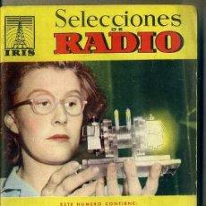 Radios antiguas: SELECCIONES DE RADIO IRIS Nº 25. Lote 179256106