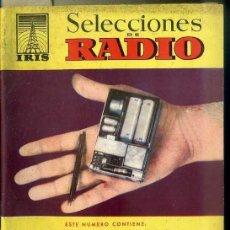 Radios antiguas: SELECCIONES DE RADIO IRIS Nº 5. Lote 179256147