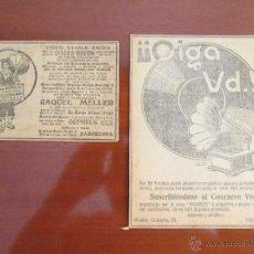 Radios antiguas: INDISCUTIBLE EXITO DISCOS ODEON Y CONCURSO VENTA DE LA CASA WERNER =VER DESCRIPCION. Lote 50668737