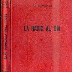 Radios antiguas: DARKNESS : LA RADIO AL DÍA (BRUGUERA, S/F). Lote 50804171