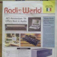 Radios antiguas: REVISTA RADIO WORLD / VOL.18 Nº 4 / AES AMSTERDAM 94 OFFERS BEST IN AUDIO / 23 FEBRUARY 1994. Lote 50818367