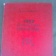 Radios antiguas: 1957 REPARACIONES CLASIFICADAS BRUGUERA. Lote 51513927