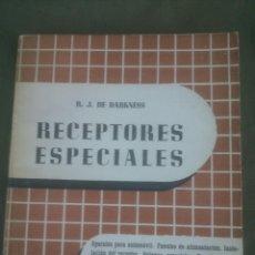 Radios antiguas: RECEPTORES ESPECIALES MANUALES DE RADIO ENCICLOPEDIA. Lote 51514018